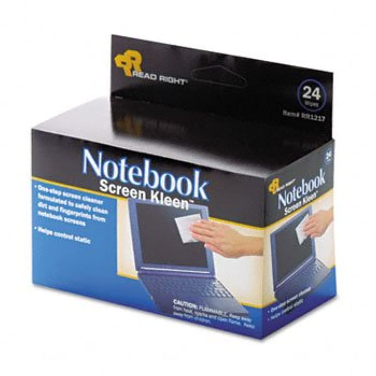 Read Right Notebook ScreenKleen? Wipes