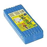 Feuchtmann Spielwaren 628.0305-8 Juniorknet - Pack de plastilina Jumbo, 500 g, Color Azul
