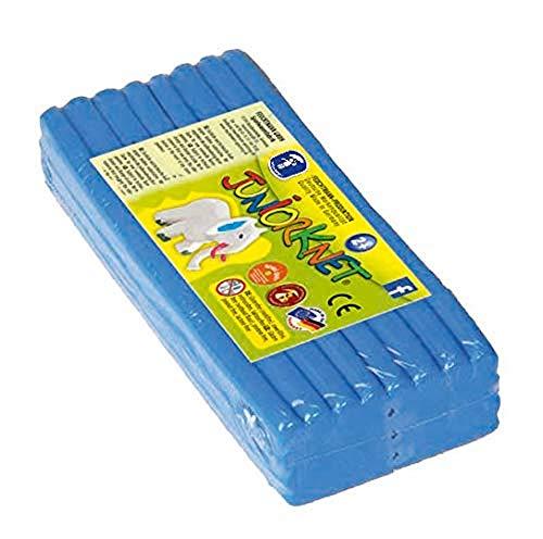Feuchtmann 628.0305-8 - JUNiORKNET Jumbo Pack, 32 Stangen, geschmeidige Knete 2+, ca. 500 g, blau, ideales Geschenk für kreatives Spielen