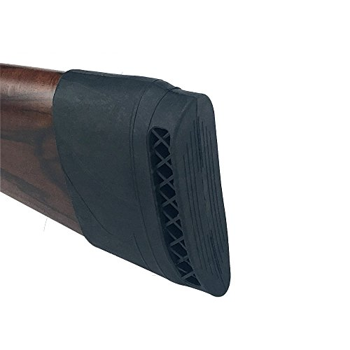 OAREA - Almohadilla de goma para rifle de caza, negro