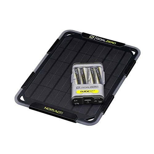 Goal Zero Guide 10 Plus Solar Kit with Nomad 5 One Color, One Size