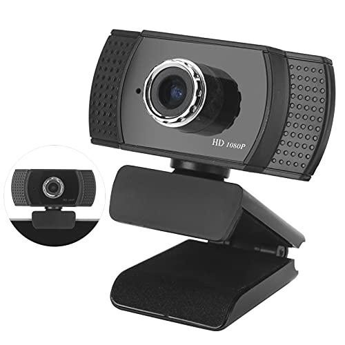 Cámara para computadora 1080P HD, 200W Laptop USB PC Webcam Soporte Soporte de trípode extraíble para Estudio en línea/conferencias/Juegos/videollamadas/grabación