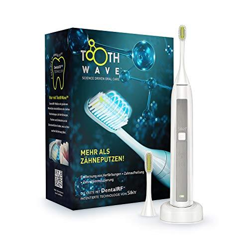 Silk'n ToothWave - Entfernt Verfärbungen, Flecken und Zahnstein - Mit der DentalRF - Technologie - Macht Zähne Sichtbar Weißer - Beugt Zahnfleischerkrankungen und Zahnverfall Vor
