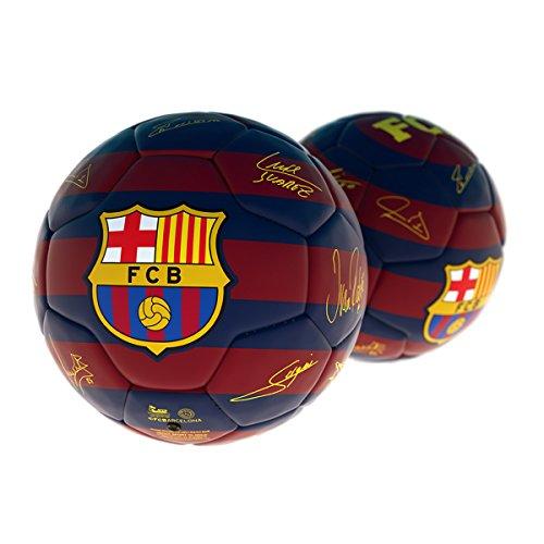 Balón F.C. Barcelona Firmas Grande Talla 5: Amazon.es: Juguetes y ...