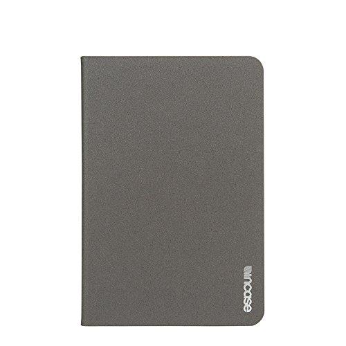 Incase Book Jacket Slim 20,1 cm (7,9 inch) klapetui gemaakt van houtskool - beschermhoes voor tablet (brieventas, Apple iPad Mini 4, 20,1 cm (7,9 inch), houtskool)