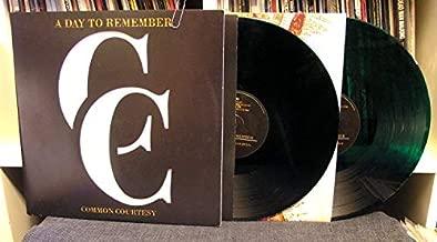 Common Courtesy 2x LP (Green w/Black Smoke) (Limited UK Press)
