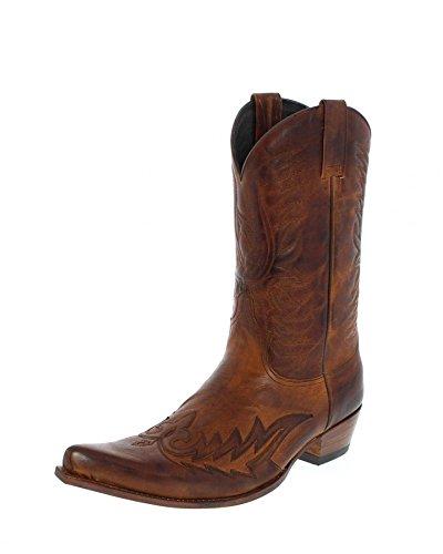 Sendra Boots 12994, Stivali uomo Marrone marrone, Marrone (teak), 46