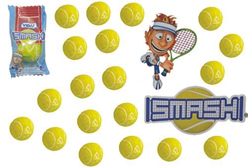 jameitop®🎾 Tennisball KAUGUMMI 20er XL Pack Tennis Bälle saurer Lime Geschmack 🎾