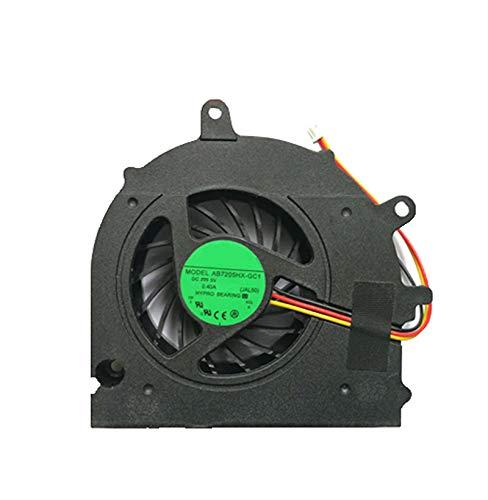 Ventilador de refrigeración de CPU para Ordenador portátil para Toshiba Satellite A500 A500D DC2800060A0 AB7005HX-SB3 KSKAA DC5V 0.40A 3Pin Nuevo