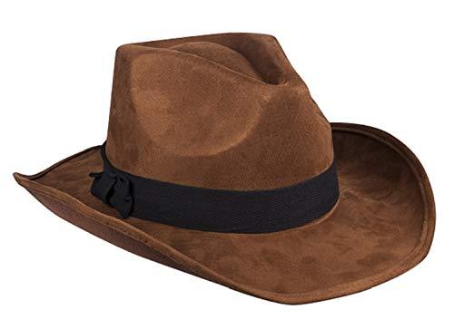 TH-MP Sombrero de aventurero marrn de la selva, sombrero del tesoro, cazador del tesoro, accesorio para disfraz, carnaval, fiesta temtica