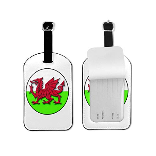 Wales Welsh Dragon Luggage Tag for Luggage Baggage Travel Identifier