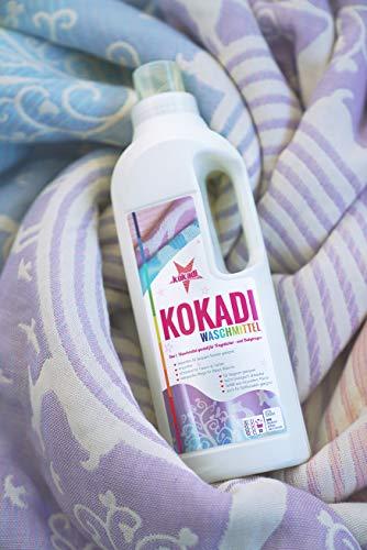 KOKADI Waschmittel ✓ speziell für Tragetücher und Babytragen ✓ enzymfrei ✓ vegan ✓ ohne künstliche Duftstoffe