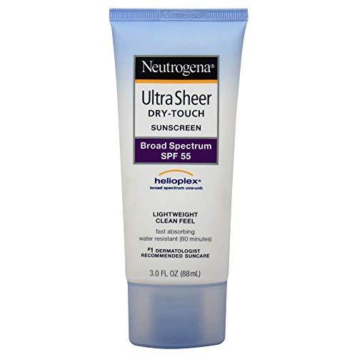 Neutrogena Ultra Sheer Dry-Touch Sunblock SPF#55 90 ml