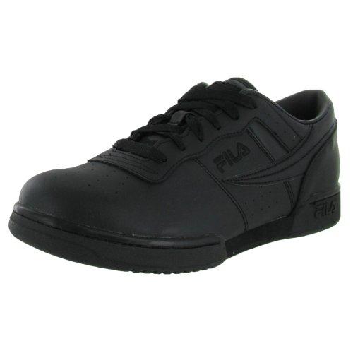 Fila Men's Original Fitness Shoes Black/Black/Black 10.5