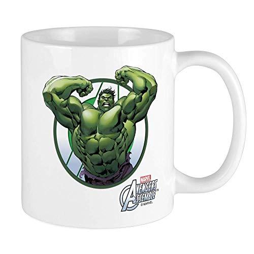 Eastlif Die unglaubliche Hulk-Tasse Einzigartige Kaffeetasse, Kaffeetasse