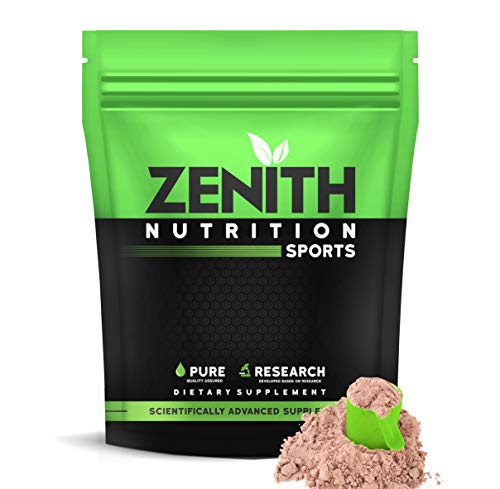 Zenith Nutrition Mass Gainer++ with Enzyme blend | 17gm Protein | 51gm Carbs | Added Glutamine | Lab tested (Double Rich Chocolate 750 gms)