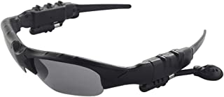 Oculos escuros, Andoer Óculos de sol inteligentes Fone de ouvido sem fio Bluetooth Óculos polarizados Fones de ouvido de m...