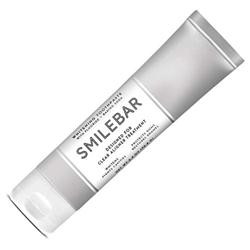 Smilebar Advanced Whitening Toothpaste for Invisalign & Smile Direct Club