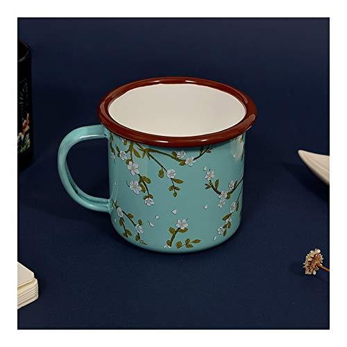 JISHIYU Taza tradicional china de té de porcelana china para casa, retro, taza de café, taza de viaje, cuenco de cerveza, cumpleaños, día del padre, Navidad, regalo de boda, 8 x 8 cm (color: verde)