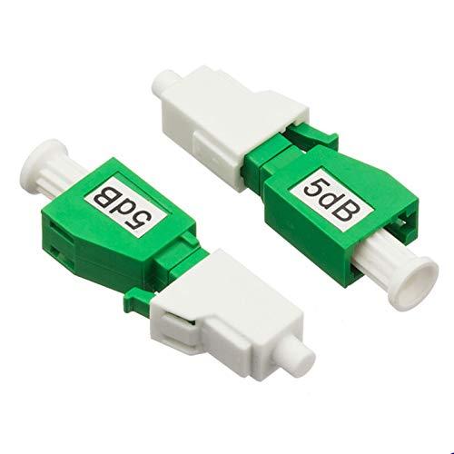 QWXX Adaptador de Fibra óptica 5pcs / Bolsa LC/APC óptica Atenuador LC-LC monomodo Hembra a Macho de 2 dB / 3dB / 5 dB / 7 dB / 10 dB / 15 dB FTTH Fibra óptica del atenuador