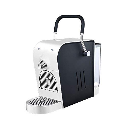 Hancoc Italienische Kaffeevollautomat, konzentriert, für Büro, Gewerbe, klein, automatisch, Haushalt, intelligent, energiesparend (weiß)