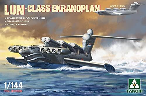 タコム 1/144 ソ連軍 ルン級 エクラノプラン プラモデル TKO3002