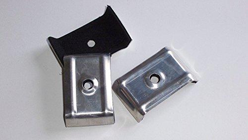 100 Kalotten Profil 35/207 Trapezprofil aus Aluminium mit Dichtung. Für Carports Überdachungen Industriehallen usw