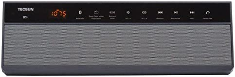 TECSUN B 5 Wireless Bluetooth Speaker with Digtial FM Radio and MP3 Player Black product image