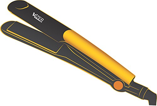 Wizer HS-8819W Ultima Pro Hair Straightener (Black/Yellow)