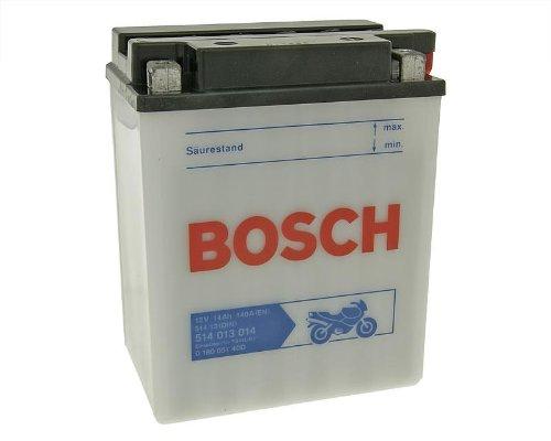 Preisvergleich Produktbild Batterie Bosch YB14L-B2 für Suzuki GSX 1100 F Bj. 1988 - inkl. 7