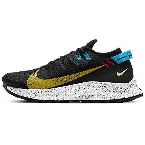 Nike Pegasus Trail 2, Zapatillas de Running Hombre, Negro, 42 EU