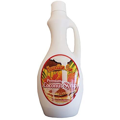 Hawaiian Sun Premium Coconut Syrup (12.5 oz)