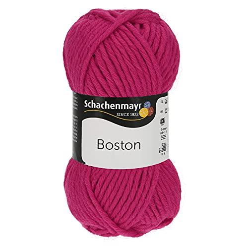 Schachenmayr 9807412-00056 - Hilo para tejer a mano, 70% poliacrílico, 30% lana virgen, color fucsia, talla única