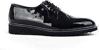 Tamboğa P-604 Erkek Rugan Klasik Ayakkabı