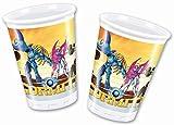 Gormiti - Bicchieri, 8 pezzi