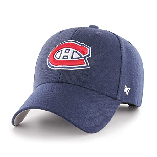 '47 Montreal Canadiens Adjustable Cap MVP NHL Light Navy - One-Size