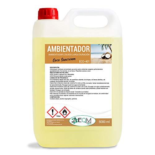 Ecosoluciones Químicas ECO- 401   Ambientador Profesional AROMA COCO   Larga duración...