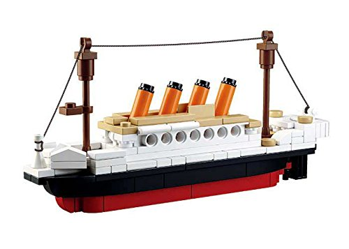 Sluban SlubanM38-B0576 Titanic Building Bricks Set (Small)
