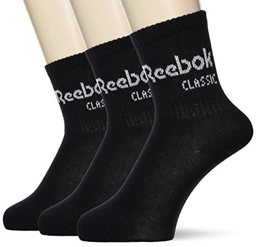 Reebok Socken Dreierpack CL CORE CREW SOCK 3P CZ8014 Schwarz, Size:43/46