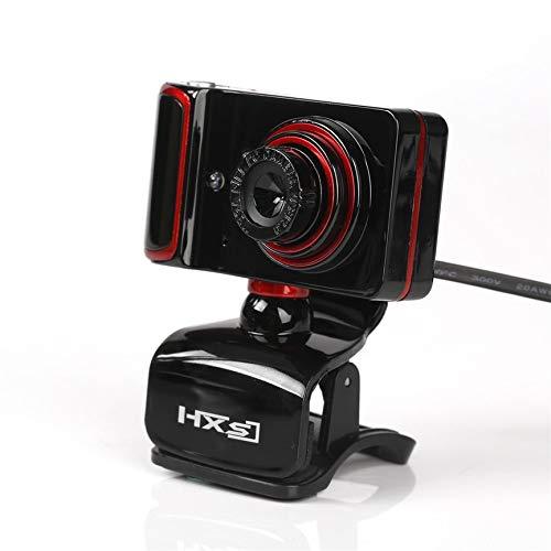 Peanutaoc S10 High Definition Webcam Camera USB Cam Met CD Driver Microfoon MIC Voor Computer PC Laptop S10 Zwart