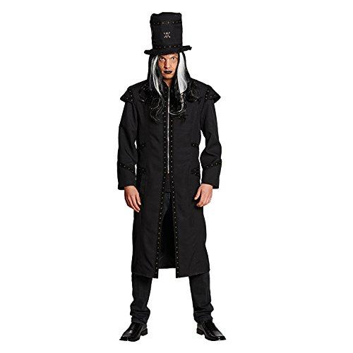 Kostüm Dark Dodger Gr. 50 - 58 Ganove Gangster Bestatter Totengräber Halloween Schwindler Fasching Karneval 54