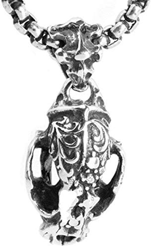 JSBVM Collar de grifo de acero inoxidable para hombre, fácil de combinar, collar de encanto de fiesta popular, moda personalizada, collar de hip hop punk simple