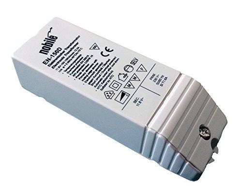 Elektronischer Transformator 50-150VA / 12V / 230V Einbau Trafo EN-150 D AC/DC für Halogen
