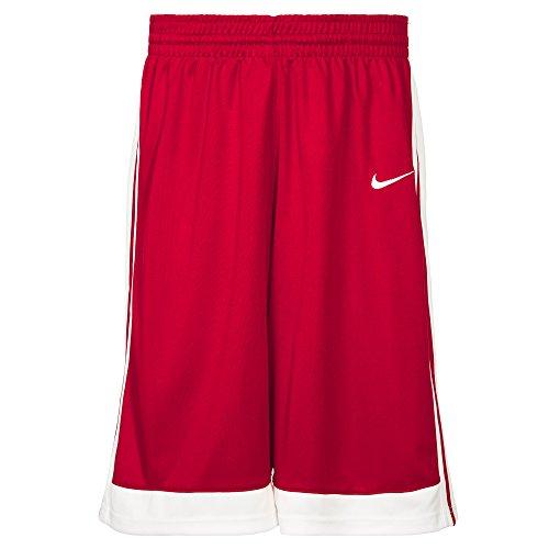 Nike M National Varsity Stock Shorts Trikot, rot/Weiß, XL-52/54