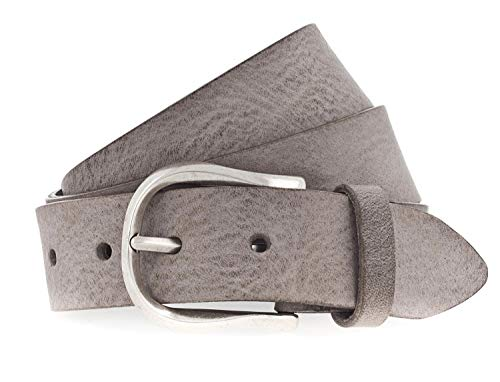 Preisvergleich Produktbild Vanzetti Genuine Beauty 35mm Full Leather Belt W75 Mouse Gray