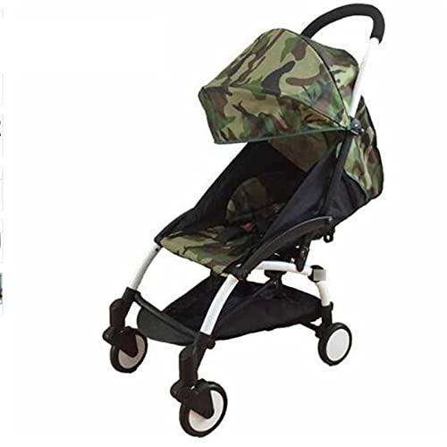 LQJin Cochecito de bebé Original 2 en 1 + Nido de Nacimiento recién Nacido Carreras de bebé Plegables cochecitos cochecitos para bebé 0-36 Meses (Color : 15) ⭐