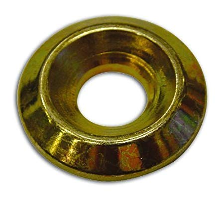 RONDELLE CONICHE PER VITI GAZEBO cf.100 pz. (Misura int./est. 7,6x20 mm. Viti TX 6 mm.)