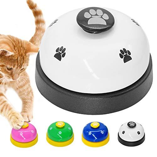 Legendog Haustier Ausbildung Glocke Abdruckmuster Katzenglocke Spielzeug Hund Ausbildung Glocke