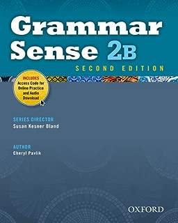 Grammar Sense 2B Student Book with Online Practice Access Code Card