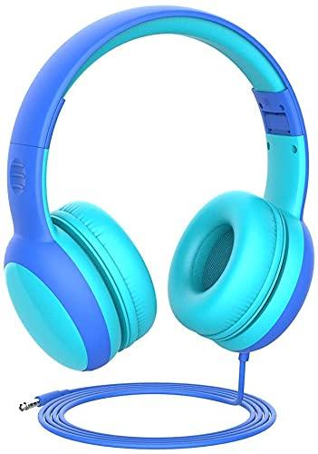 Gorsun Auriculares para niños, Volumen Limitado en el oído Auriculares para niños...
